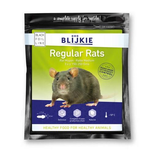 Rat regular (per 3 verp.)150-250 gr.