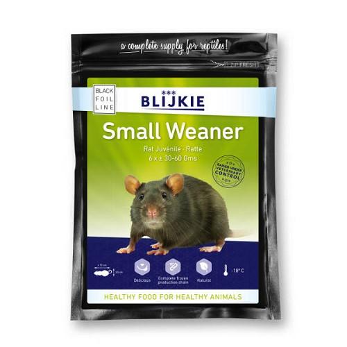 Small weaner rat 30-60 gram per 6 st.