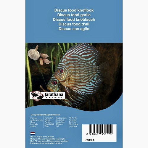 Discus food Life Garlic blister